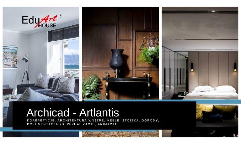 Archicad Korepetycje Architektura Wnętrz i Aranżacja Wnętrz