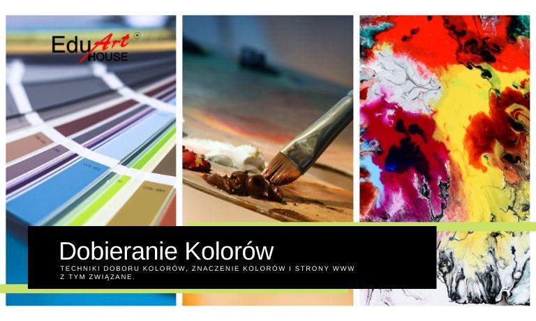 Strony pomagające w doborze koloru. Dobieranie barw. Jak wybrać kolory?